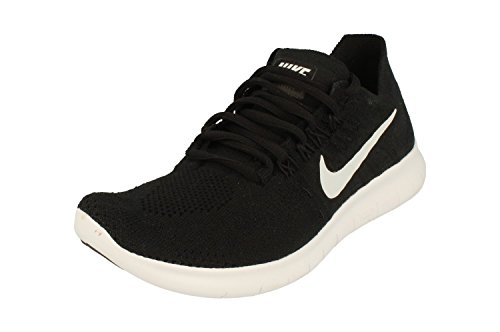 NIKE Womens Free RN Flyknit 2017 Running Trainers 880844 Sneakers Shoes (UK...