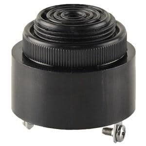 Audio Indicators /& Alerts Buzzer 42.5mm rnd 2.8kHz 12V Screws