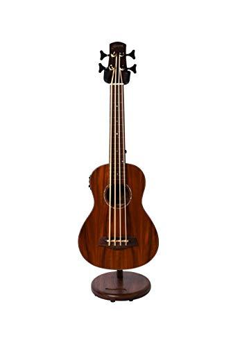 (Ruach Original Wooden Galanta Ukulele Guitar Stand – Handmade from Walnut)