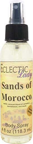 Sands Of Morocco Body Spray (Double Strength), 4 ounces