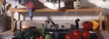 Woodform Over The Sink Shelf Made in USA