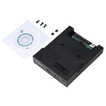 Nghvnm Negro SFR1M44-U100K 5V 3.5 1.44MB 1000 Unidad de Disquete a emulador USB Simulación Conector Simple para Teclado Musical: Amazon.es: Electrónica