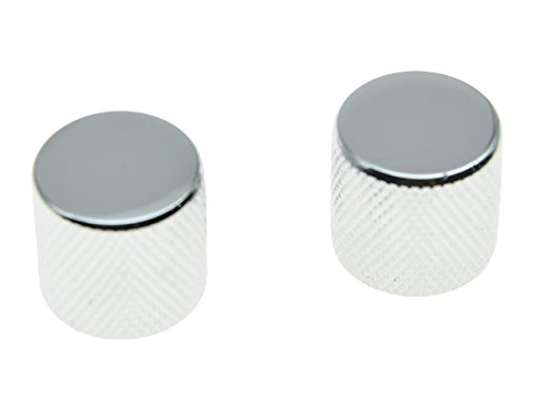 guitar knobs chrome - 9