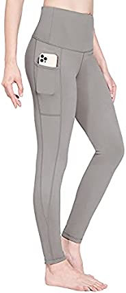 BALEAF Women's Fleece Lined Leggings Water Resistant Thermal High Waisted Winter Workout Running Pants wit