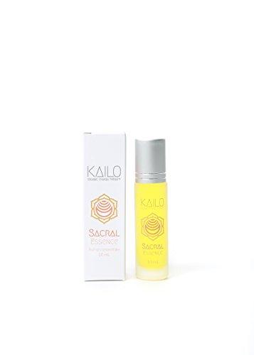 Kailo Organic Chakra Therapy - Sacral Chakra Essence (aromatherapy + energy work roller)