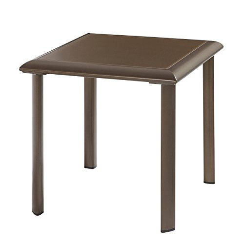 Talon End (Emerald Home Furnishings OT1311-1 Talon Outdoor End Table, Standard, Bronze)