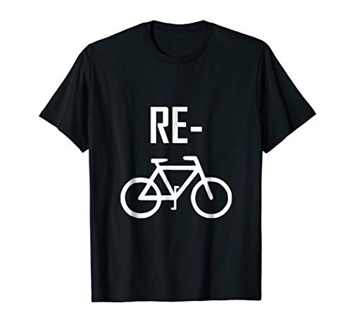 Recycle Bicycle Bike Funny T-Shirt