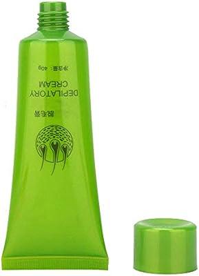 40g Crema depilatoria, Inhibidor de crecimiento del cabello unisex Quite el vello rápido, Depilación para Biki, Antebrazo, Axila, Axila, Piernas sin dolor: Amazon.es: Belleza