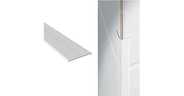 Amazon.com: Protector de pared de esquina de plástico blanco ...
