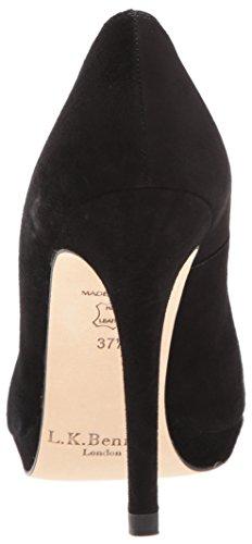 LK BENNETT Damen New Sledge Pumps Schwarz (Black-Black)