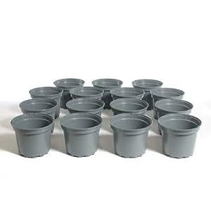 Pot plástico Horticole SX 2litros gris (lote de 15)