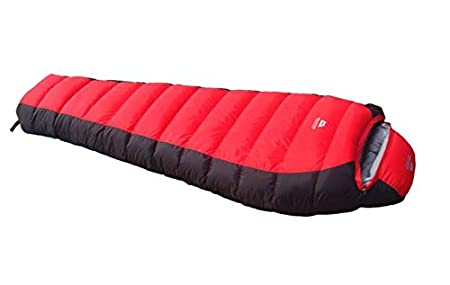 TTYY Bolsa de dormir de plumas de invierno caliente al aire libre Camping turismo , blue