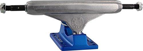 静める検索エンジン最適化ヘクタールCaliber Trucks The Standard Raw / Blue Skateboard Trucks – 136 mmハンガー8