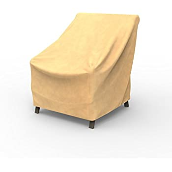 Amazon Com Empirepatio Low Back Chair Covers 31 In High