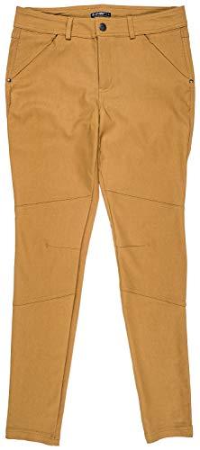 Hi-Tec Flex Women's Water Repellent Antler Outdoor Skinny Pant, Dijon, Size 2