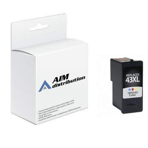 AIM Compatible Replacement for Lexmark NO. 41A Color High Yield Inkjet (350 Page Yield) (18Y0341) - Generic