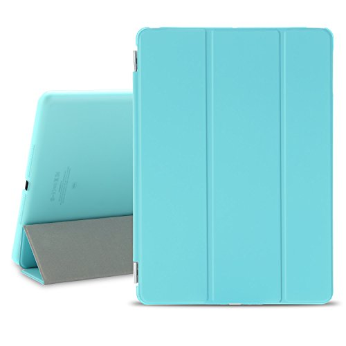 BESDATA Ultra Thin Magnetic Smart Cover Translucent Back Cas