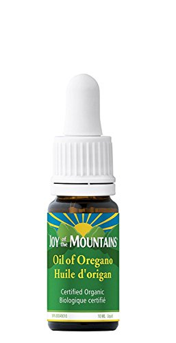 Oregano Oil (100% Certified Organic) - 0.33 Oz / 10ml ()