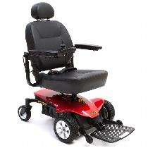 Pride Mobility - Jazzy Sport Portable Power Chair - Jazzy Red