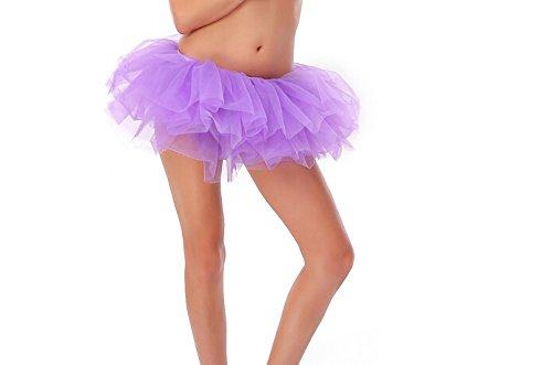 For Tutu Women (Buenos Ninos Women Tutu Boutique Ballerina Skirt (lavender),One)