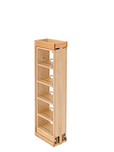 - Rev-A-Shelf 6 in. W x 39 in. H Pull-Out Between Cabinet Wall Filler, Natural
