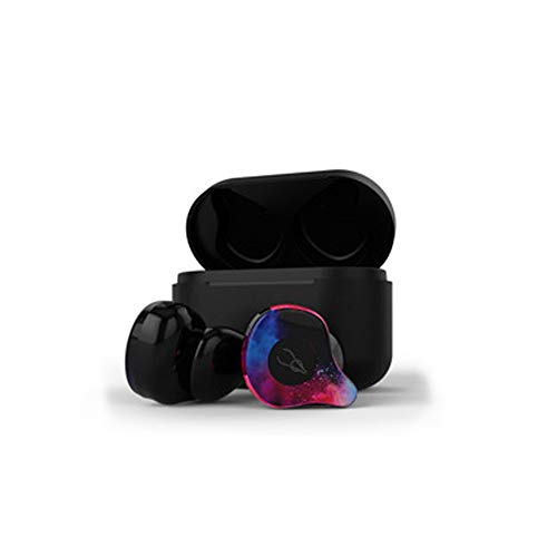 LYMOC True Wireless Stereo Earbuds TWS Bluetooth 5.0 Headset Hands-Free Earpiece Deep Bass with CVC8.0 Noise Cancellation Office Wireless Headphone for Business/Driving/Office ()