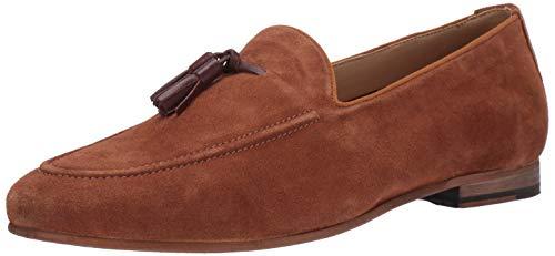 Detail Loafers - Steve Madden Men's TAZMAN Loafer Cognac Suede 9.5 M US