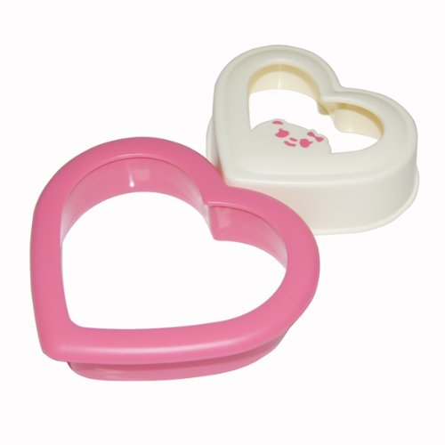 Heart Shaped Sandwich Maker Bread Mould Cutter (Bluebird Cookie Cutter compare prices)