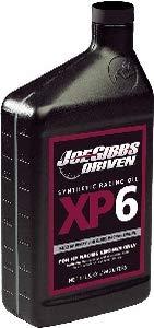 Joe Gibbs Driven Racing Oil 01006 XP6 15W-50 Synthetic Racing Motor Oil - 1 Quart Bottle (Quantity 6) ()