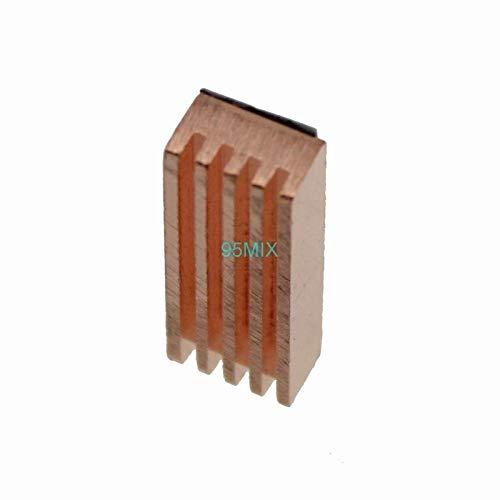 8pcs 22x8x5mm Pure Heatsink Copper Shim Thermal Pads for Laptop GPU CPU VGA