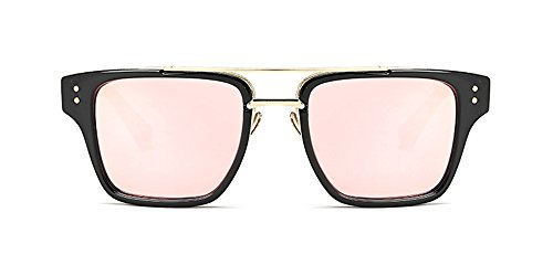 estilo KINDOYO Extragrandes sol de Gafas Gafas Unisex para Hombre y UV400 Estilo Retro Último Mujers 07 de S5AppxFqw