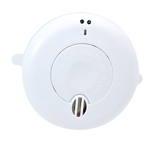 BRK SA410LLi Optical Smoke Alarm, Battery Powered with 10 Years Battery and Wireless Interlink Technology DIV005852