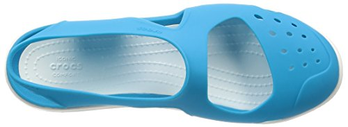 Wave electric 404b Crocs Femme Swiftwater Mules Bleu Blue vS5qOqwx