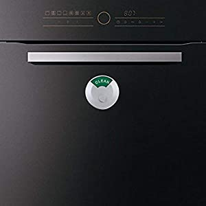 Dishwasher Magnet Clean Dirty Sign, Non-Scratching Magnet or 3M Sticky Tab Adhesion, 2018 Newest Round and Classic Design, Perfect Kitchen Gift (White)