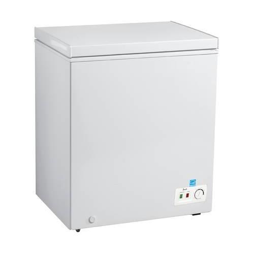 Avanti CF50B0W Freezer with 5.0 cu. ft. Capacity, White Door, Manual Defrost, Energy Star Certified in White