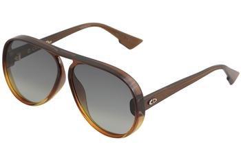 DiorLia 12J Brown Orange (Dior Sunglasses Brown Lens)