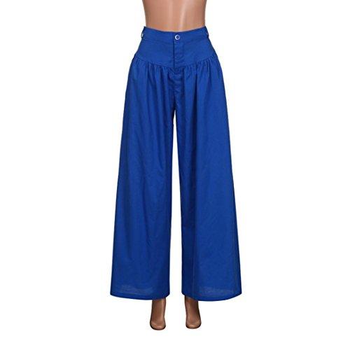 Lunghi Yoga Dragon868 Taglie Sport Casuali Blu A Alta Vita Larghi Donne Forti Pantaloni Palestra 1gpnWxgFS