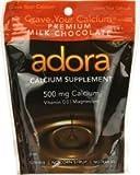 ADORA CALCIUM 500MG MILK CHOCOLATE 30 disks