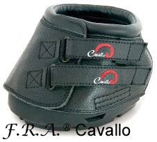 Cavallo Hufschuhe Simple Gr.4 black 1pr
