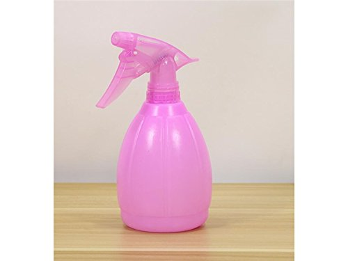 Kxrzu Durable 0.5L Atomizing Sprayer Watering Can Spray Bottle for Indoor Outdoor Plants Flowers Cleaning Watering Bottle-Pink