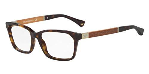 Emporio Armani EA3095 Eyeglass Frames 5026 - Havana - Eyeglasses Frame Emporio Armani