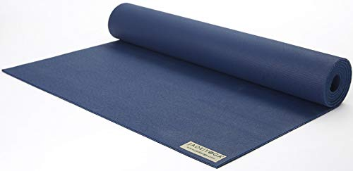 "Jade Harmony 3/16"" x 24"" x 68"" Midnight Blue Yoga Mat"