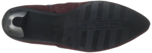 Kenneth REACTION N Burgundy Cole Womens Suede Hill Bootie Spill wRq7pwTB