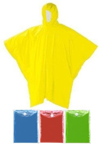 Reusable Raincoat Plastic Travel Hooded