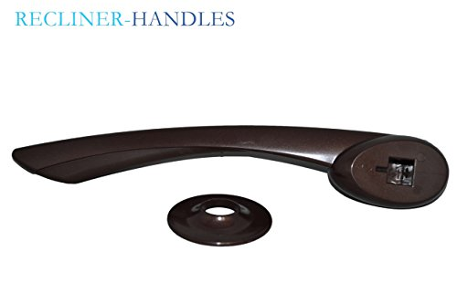 recliner handle lever style brown color with 5  8 inch hole catnapper brand