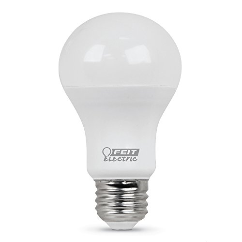 """Feit Electric A800/850/10KLED 60W Equivalent Non-Dimmable 800 Lumen A19 LED Light Bulb, 4.2"""" H x 2.4"""" D, 5000K Daylight"""