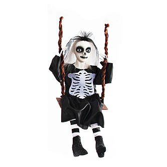 Skeleton Bride Doll Halloween Decoration
