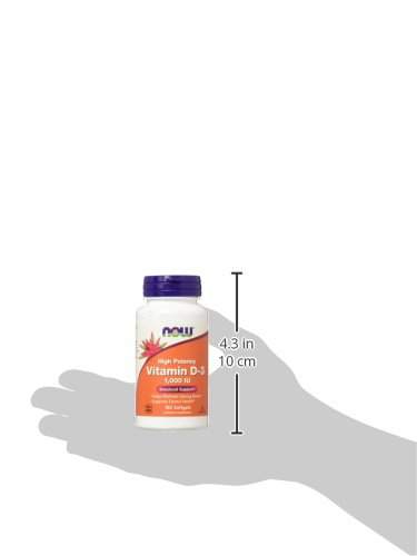 Now Supplements, Vitamin D-3 1000 IU, 180 Softgels by NOW Foods (Image #7)