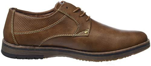 Oxford Camel Hombre Cordones Marrón para XTI Zapatos Camel de 48180 gwqBWpIF