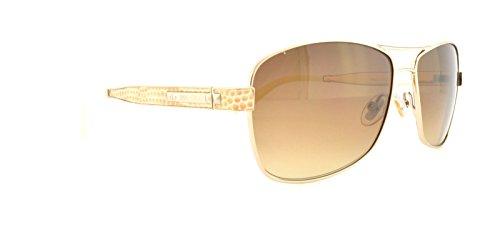 Jimmy Choo Sunglasses - Cris/S / Frame: Light Gold Lens: Brown gradient